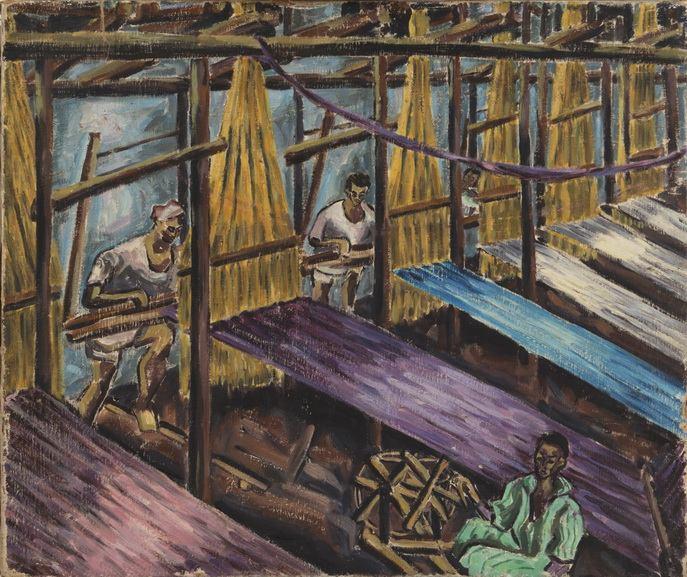 Inji Efflatoun - Textile Workers