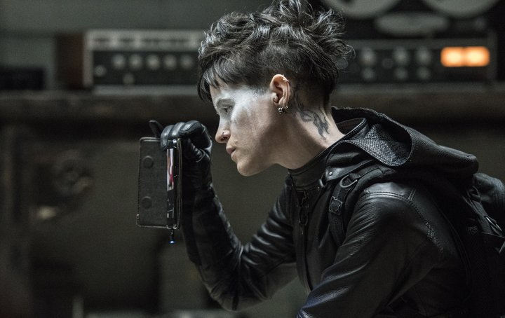 "In ""The Girl In The Spider's Web,"" Lisbeth is a club kid Batman, a stylish angel of death, complete with getaway ca"