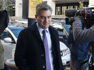 PHOTO: CNNs White House correspondent Jim Acosta arrives for a hearing at the U.S. District Court on Nov. 16, 2018 in Washington.