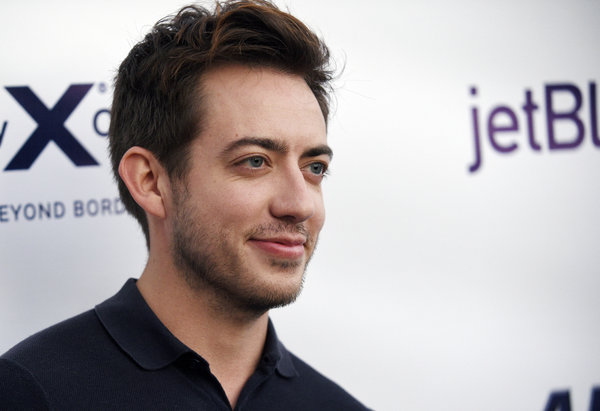 "In April, the ""Glee"" star <a href=""https://www.huffingtonpost.com/entry/glee-star-kevin-mchale-comes-out-with-a-little-help-f"