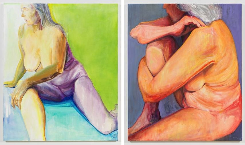 In the Green, 2017, Knee Up, 2017