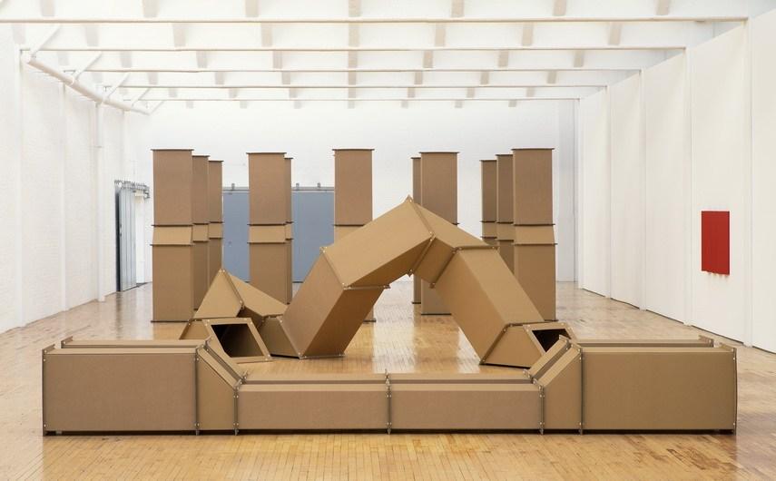 Charlotte Posenenske - Installation view Dia Beacon