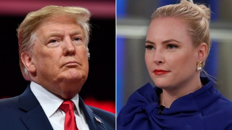 Meghan McCain says Trump 'will never be a great man'