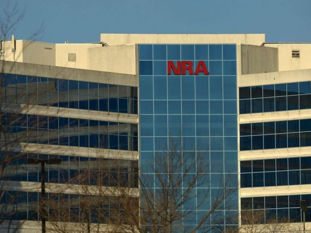 PHOTO: The National Rifle Association of America headquarters building in Fairfax, Va., Jan. 10, 2013.