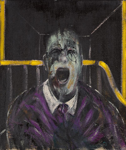 Francis Bacon Study For a Head