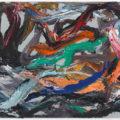 Eberhard Havekos, 'Oliven Öl, B14/15,' 2014-15, oil on canvas