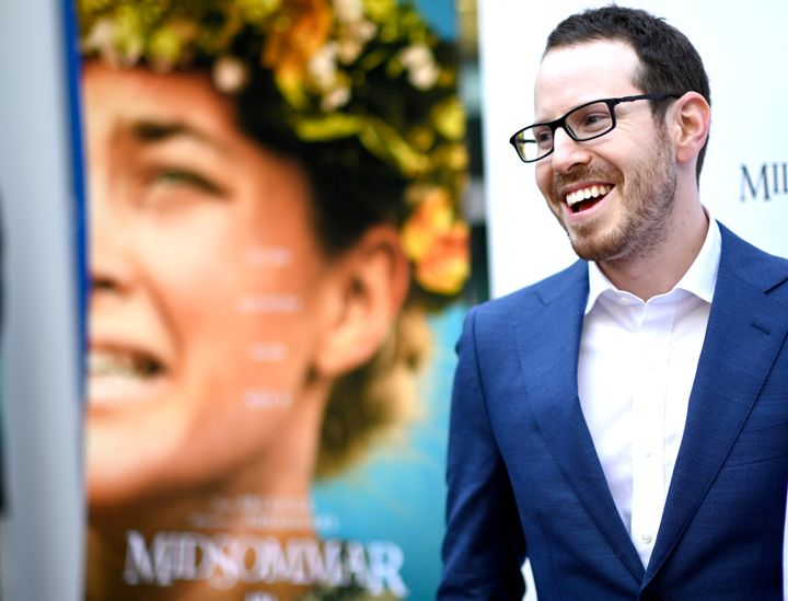 """Ari Aster at the Los Angeles premiere of """"Midsommar"""" on June 24."""