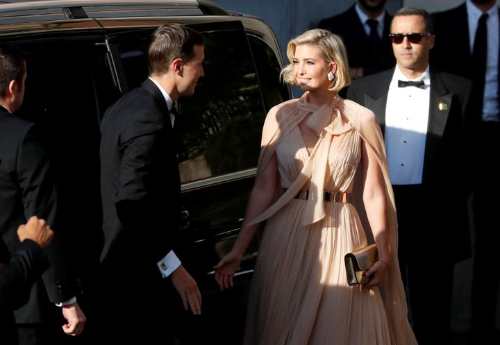 Ivanka Trump and Jared Kushner also head to the wedding festivities in Rome.