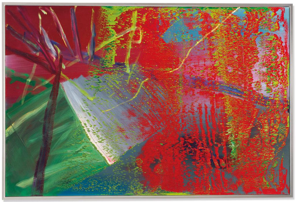 Gerhard Richter's 1984 'Abstraktes Bild' sold for $8.64 million at Christie's London.