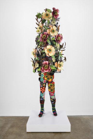 Nick Cave, 'Soundsuit,' 2008, fabric, fiberglass, and metal