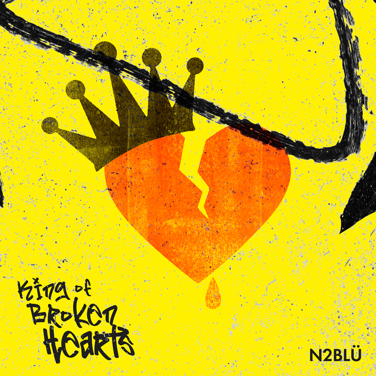 NSE ELECTRONIC: N2BLÜ blast back into action after their LGBTQIA smash hit 'NSA' with a well produced marching synth pop 'Human League' esque pop sound on uplifting 'King of Broken Hearts'