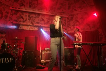 Litany on stage at Deaf Institute Manchester
