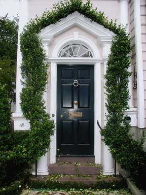 Classic Charleston Doorway