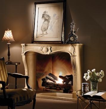 Classic Louis XV Mantel by Francoise & Co.
