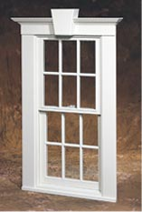 Traditional double hung by Norwood Windows