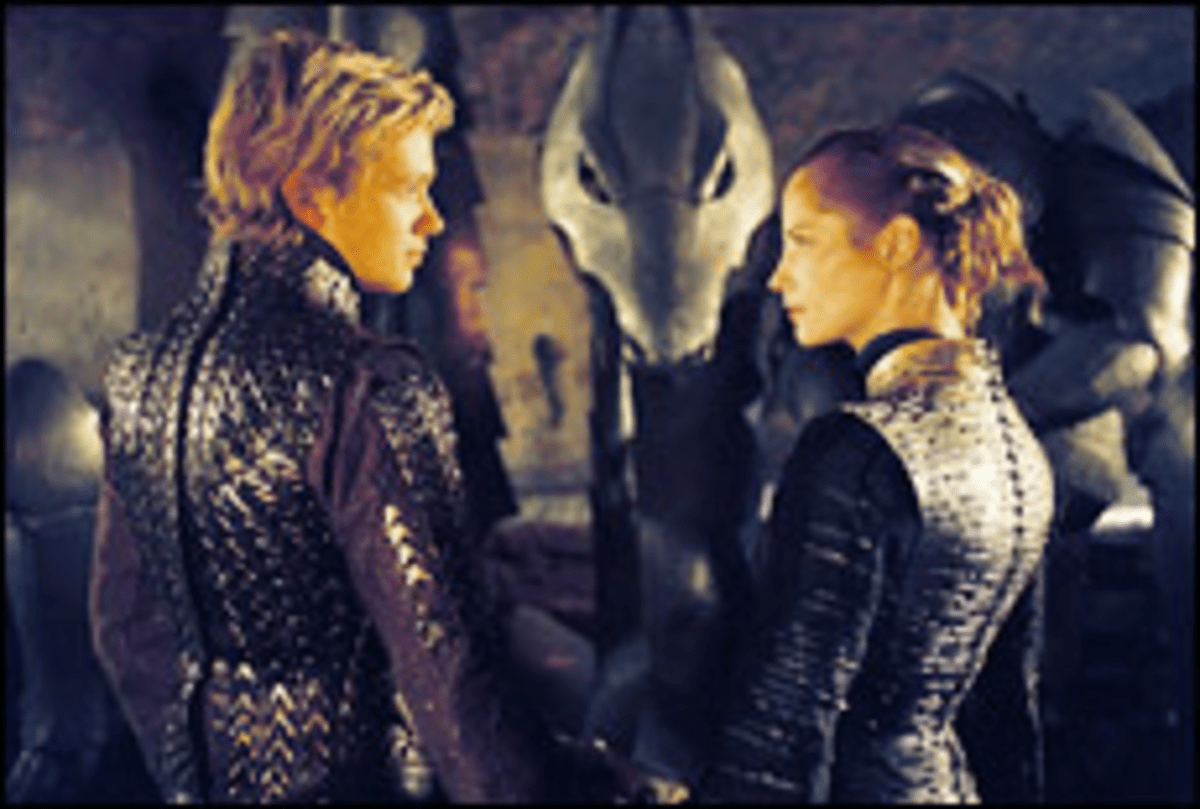 Interspecial Dating: Eragon makes eyes at a hot elf.