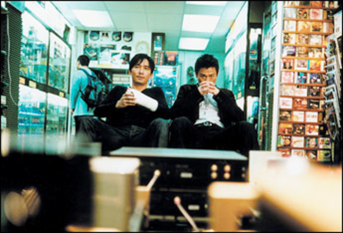 Quite a Cast: Leung and Lau's dueling moles drive Infernal Affairs.