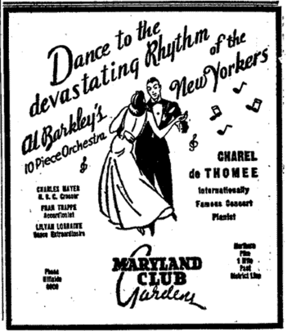 ad from WashPost, 3/13/35