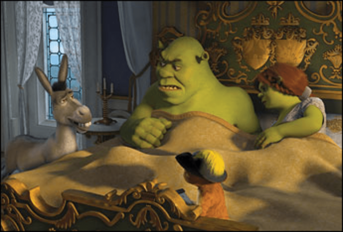 A Bray Old Time: The usual suspects assemble for Shrek the Third.