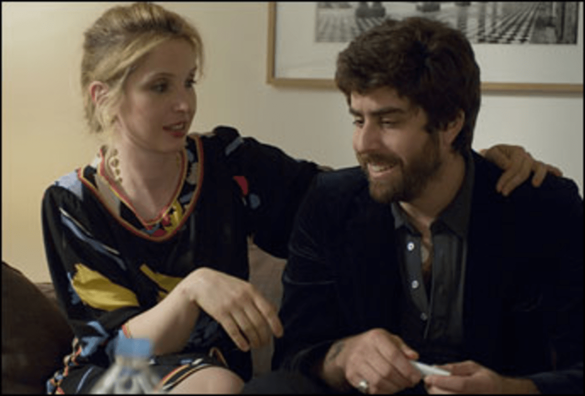 Sticking Her Ex Out: Delpy uses former beau Goldberg for Paris.