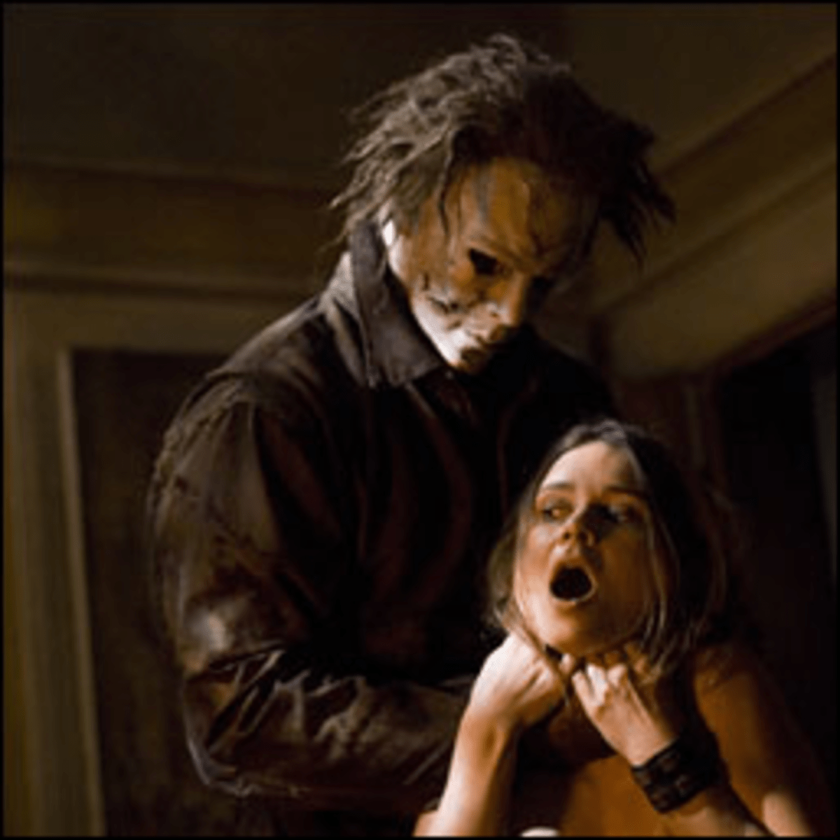 The Choke?s on Her: Rob Zombie favors full-throttle violence in Halloween.