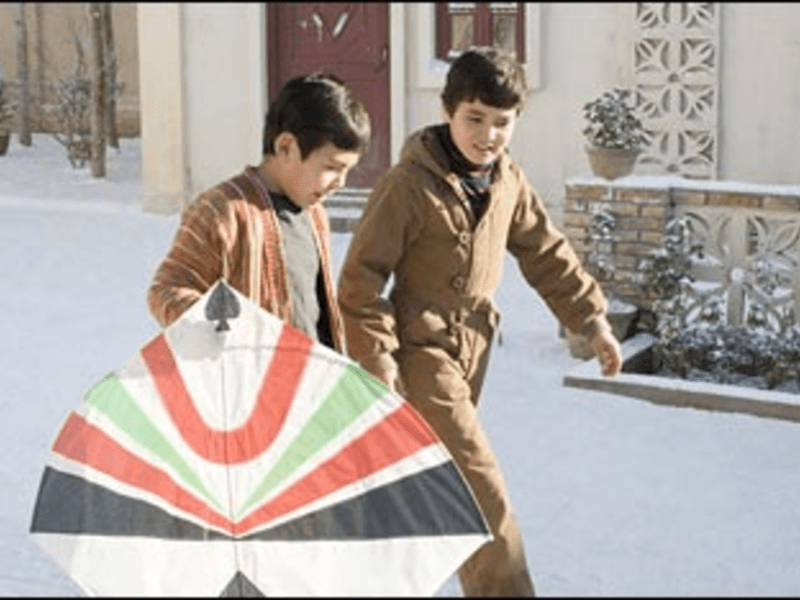 Gust Cause: The Kite Runner's boys are determined to keep their friendship aloft.