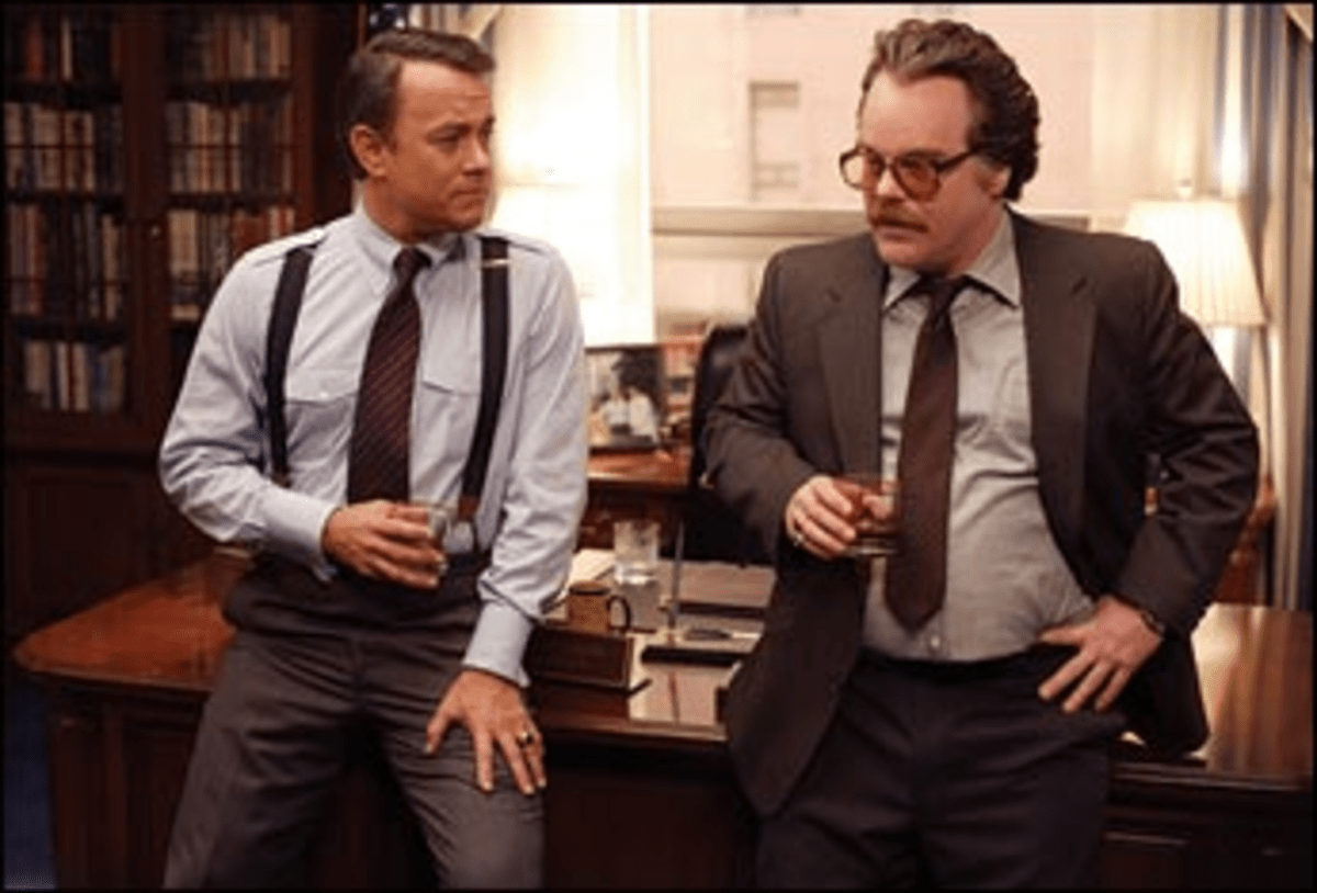 Suspenders of Disbelief: Hanks? Wilson gets a crash course in Cold War geopolitics.