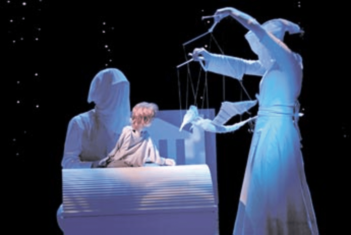 Puppet Up: Peter & Wendy was among the winners Arena Stage strung together in '07.