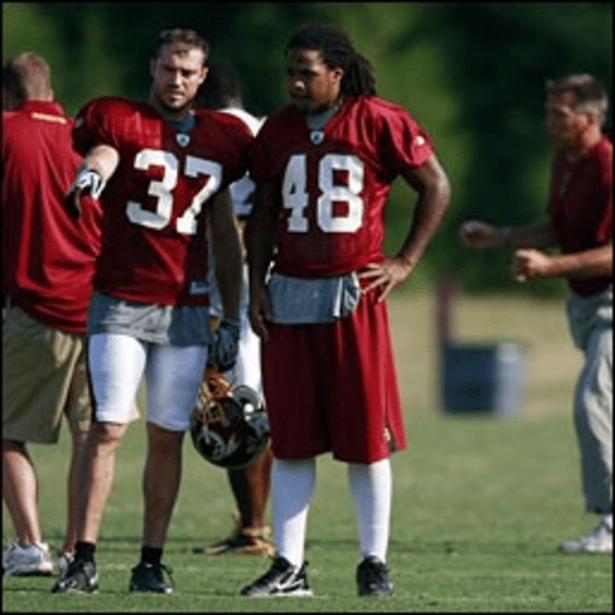 White Men Can?t Bump & Run: Doughty (with Horton) might end a Skins tradition.