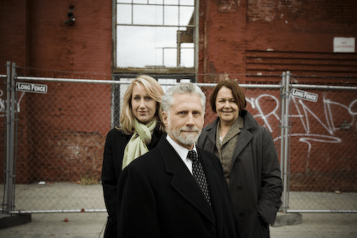 Marketing Consultant Mary Ann Voight, Developers Armond Spikell and Susan Verner Linsky (l-r)