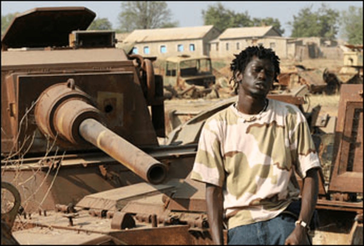 A Matter of Rust: Jal revisits the relics of Sudan?s brutal civil war.