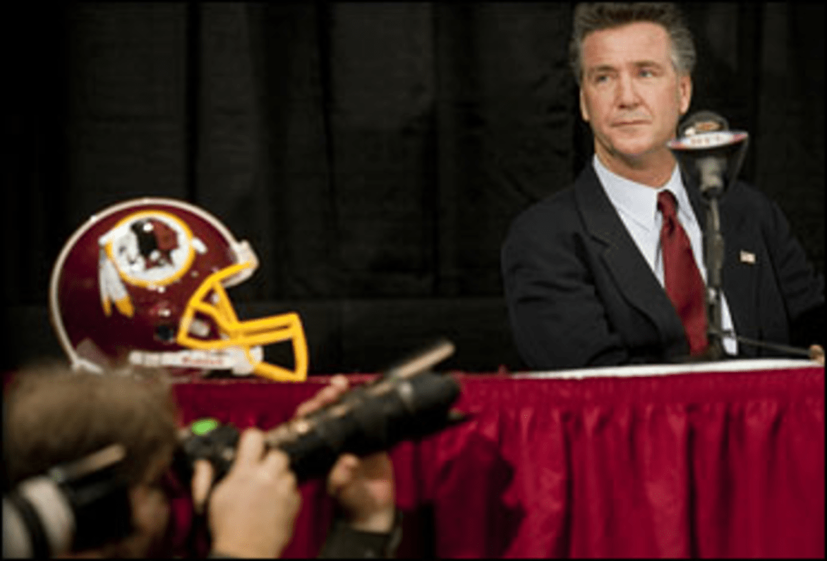 Would You Buy a Season Ticket From This Man? Redskins GM Bruce Allen