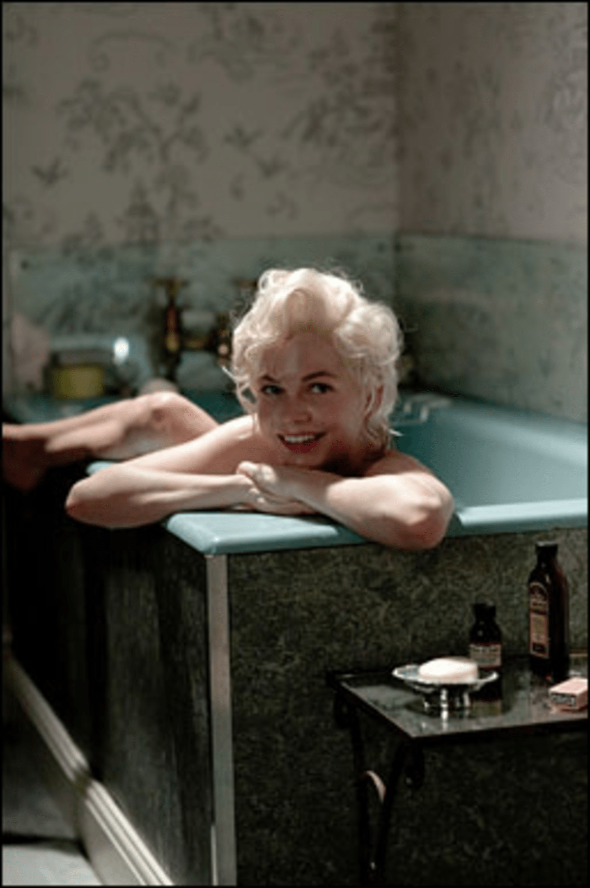 This Year's Model: Michelle Williams turns in an alluring performance as Monroe.