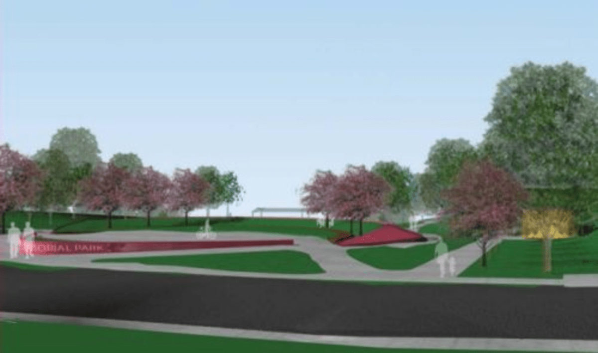 """""""Concept 1"""" for Chuck Brown Park."""