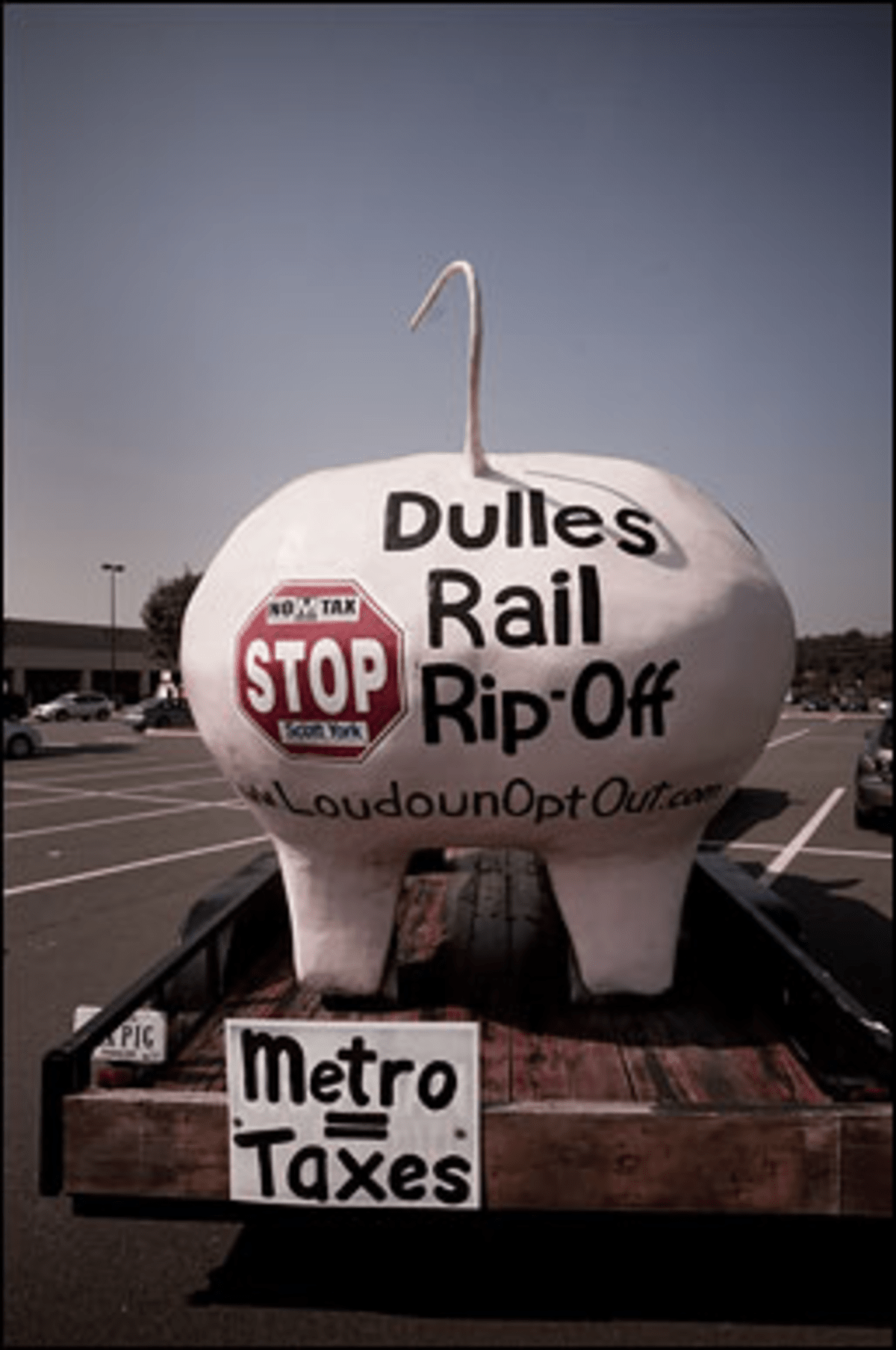 Loudon Proud: The proposed Silver Line extension has a culture war brewing in the District's Virginia exurbs.