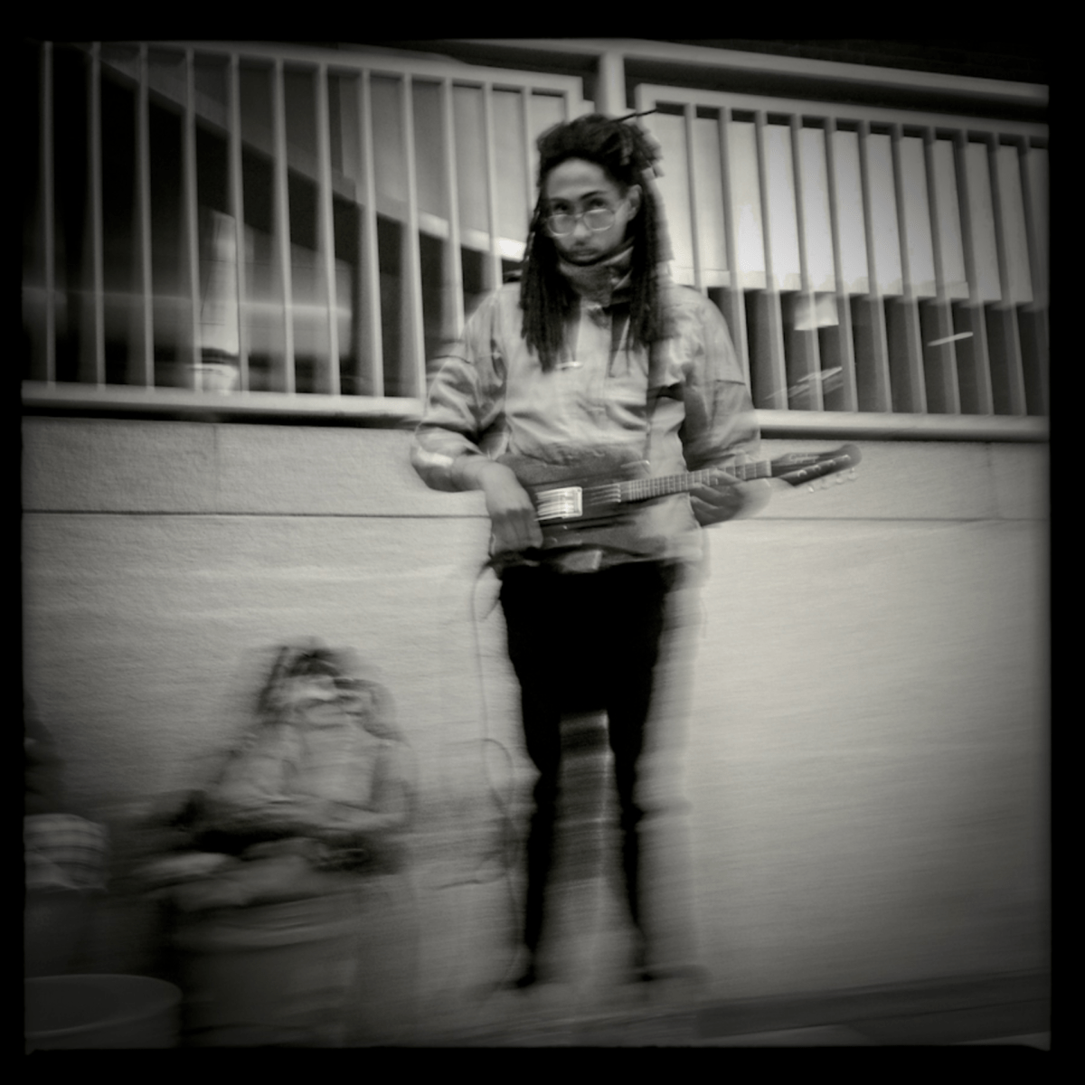 A street performer in D.C.