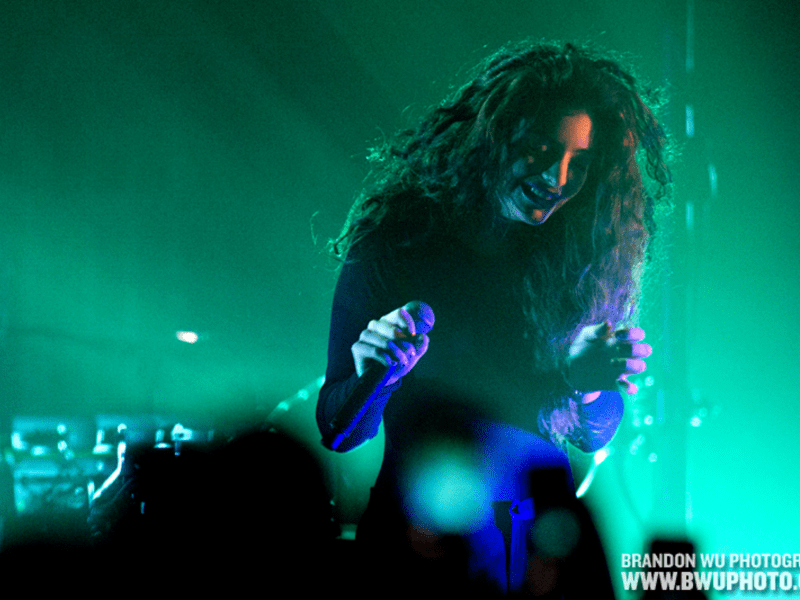 WASHINGTON, DC: Lorde performs a sold-out show at Echostage. March 7, 2014. ? Brandon Wu / for the Washington City Paper.