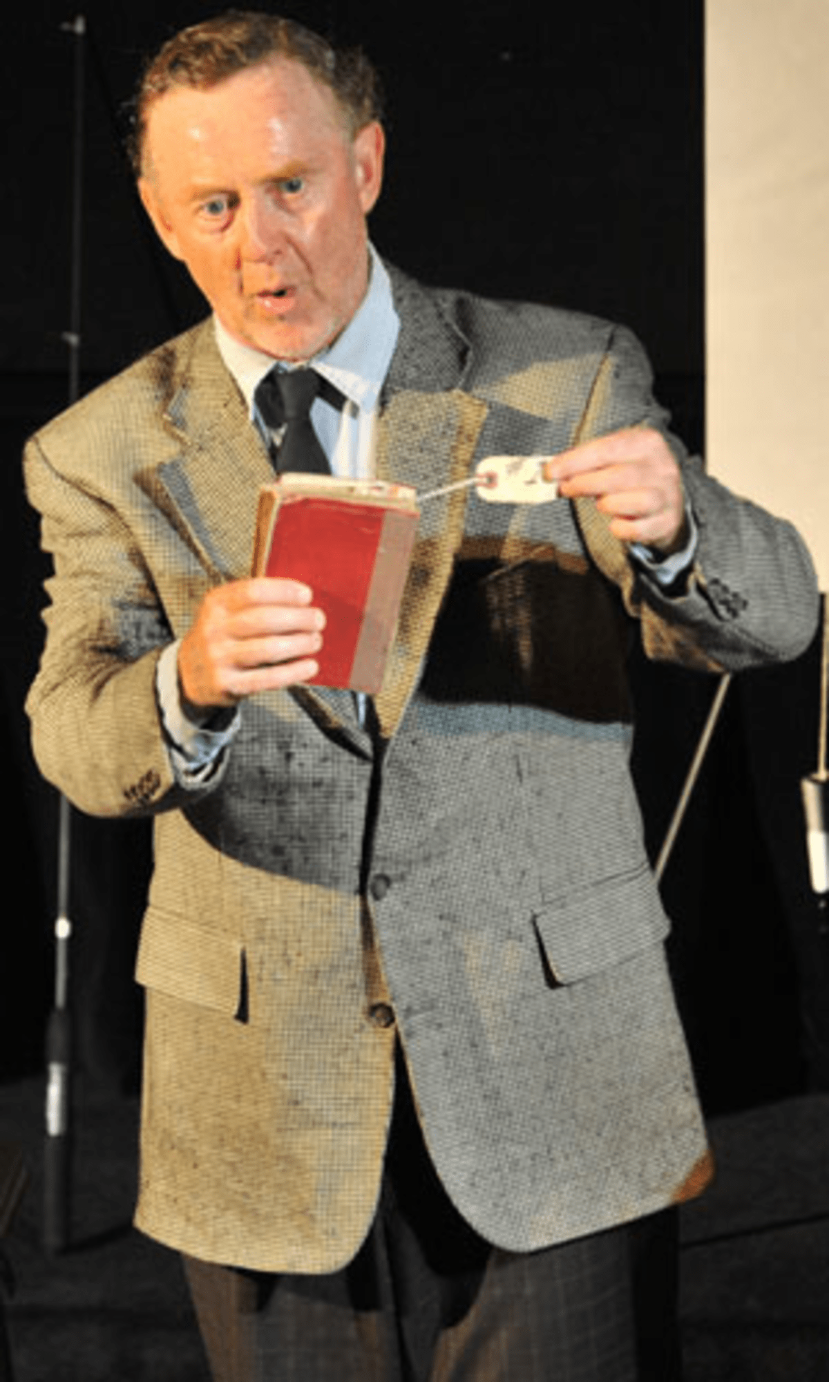 """Pat O'Brien performs """"Underneath the Lintel"""" in the 2013 Capital Fringe. His show this year is """"The Fever."""" (Paul Gillis)"""
