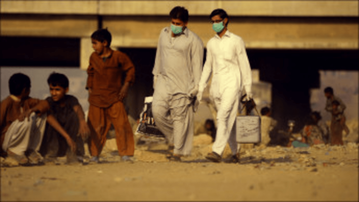 In Pakistan, drones kill children while the WHO tries to save them with vaccines.