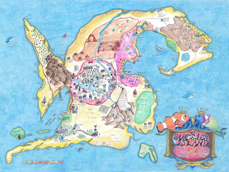 """Samesies Island"" by Jaimes Mayhew, 2016"