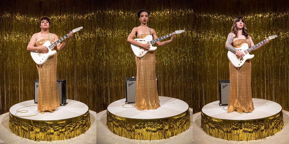 """Woman in E"" by Ragnar Kjartansson (2016)"