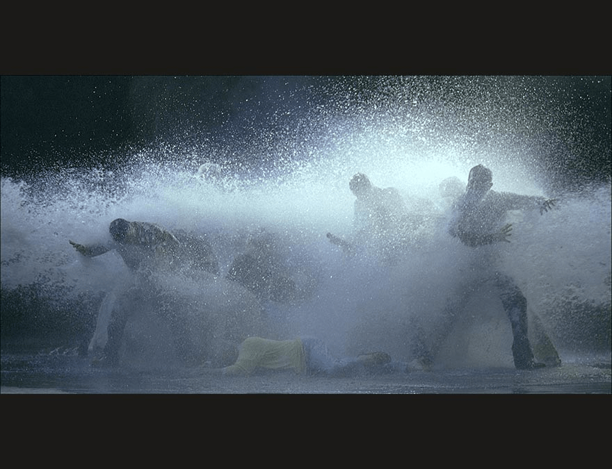 "Scene from ""The Raft"" by Bill Viola (2004)"