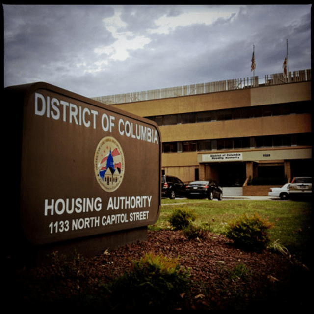 The D.C. Housing Authority administers vouchers to low-income residents.