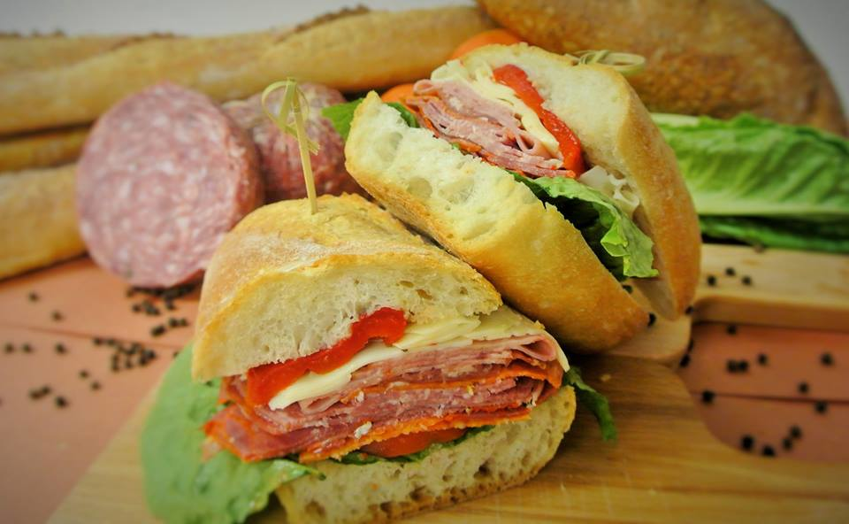 The Il Padrino sandwich at Radici