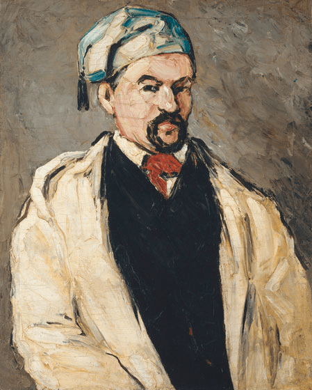 """""""Uncle Dominique in Smock and Blue Cap,"""" by Paul Cézanne (1866–1867)"""