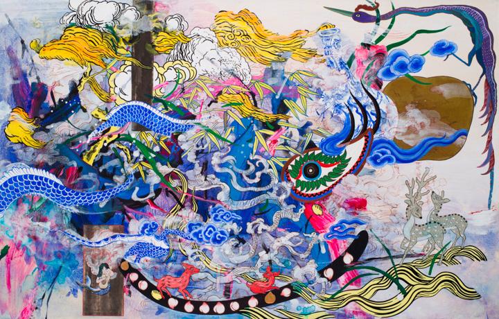 """Most Everyone's Mad Here"" by Jiha Moon (2015)"