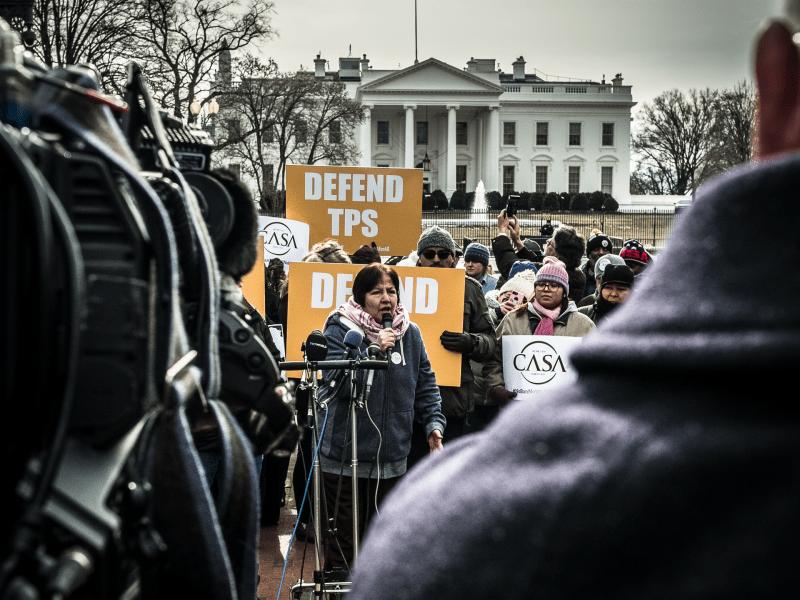 A January 2018 rally