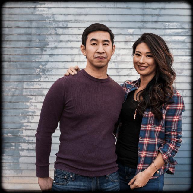 Andrew Chiou and Masako Morishita in February 2017.