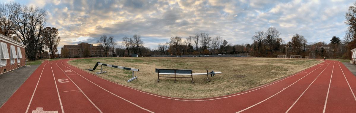 Duke Ellington School of the Arts athletic field athletic field