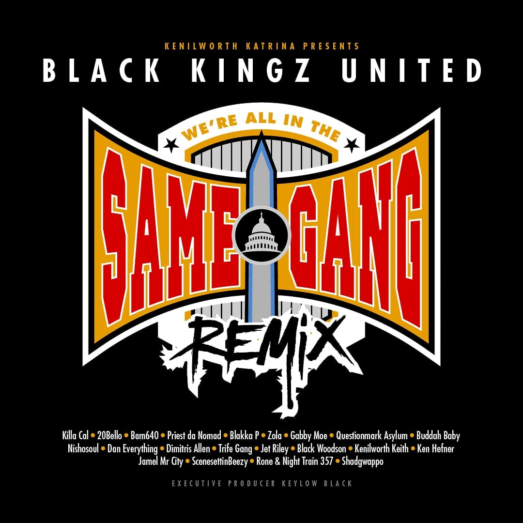 "Single art for ""We're All In The Same Gang"" Remix"